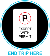 Parking with permit