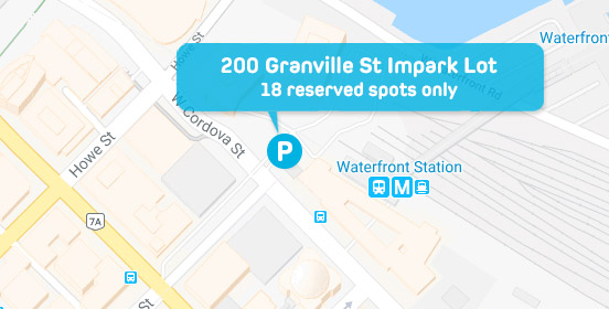 Evo Parking - 200 Granville St.