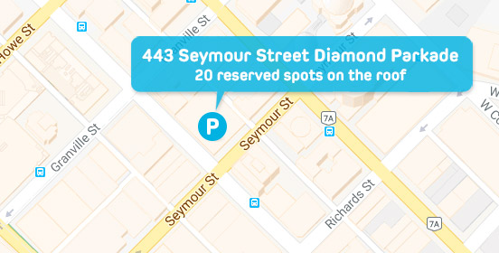 Evo Parking - 443 Seymour St.